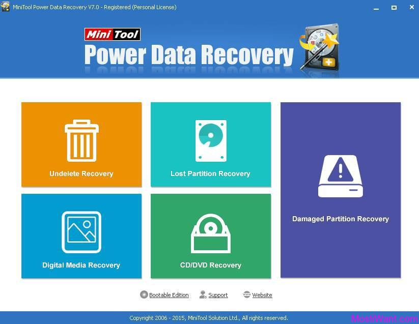 MiniTool Power Data Recovery Boot Disk 15.18 + Serial keygen
