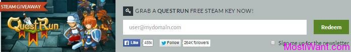 QuestRun Free Steam Key