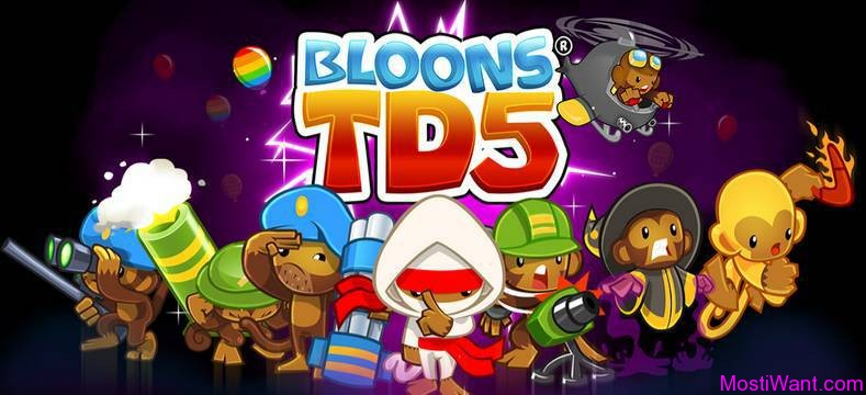Bloons TD 5 (HD) iOS Game
