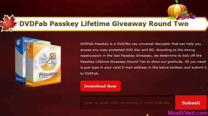 DVDFab Passkey for DVD & Blu-ray Free Download