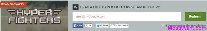 Hyper Fighters Free Steam Giveaway