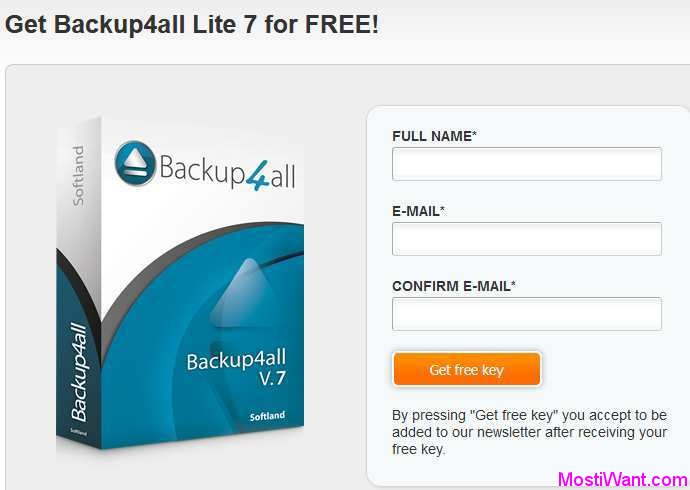 Backup4all Lite 7 for FREE