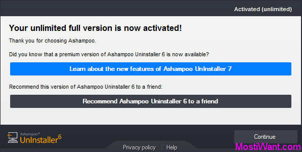 Ashampoo Uninstaller 6 Free Full Version