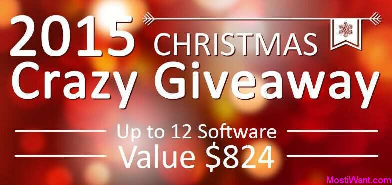 Crazy Christmas Giveaway
