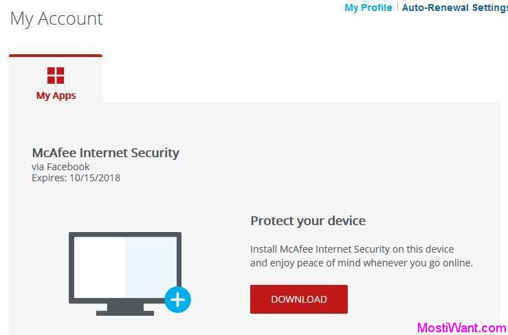 mcafee free download
