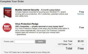 McAfee Internet Security 2018 Free Giveaway