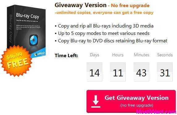 Sothink Blu-ray Copy Giveaway Download