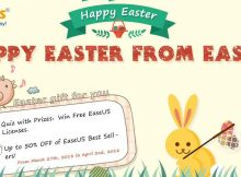 EaseUS Easter 2018 Giveaway