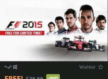 F1 2015 Free Steam Key Giveaway