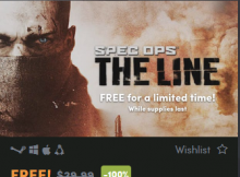Spec Ops The Line Free Steam Key