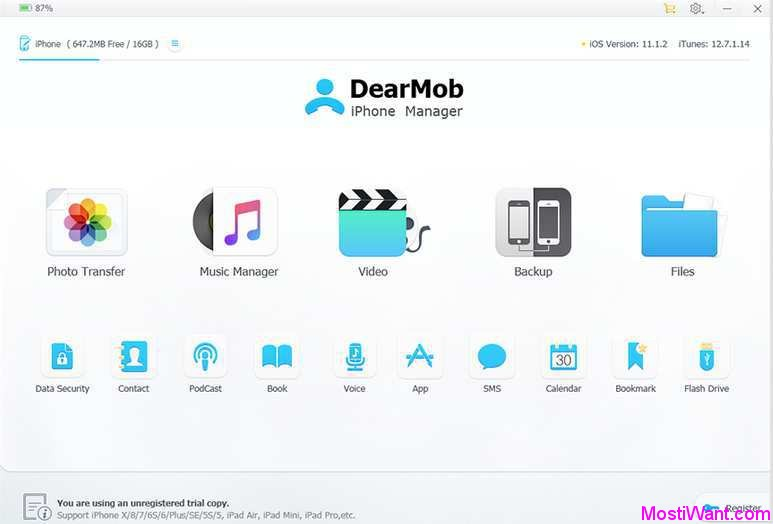 DearMob iPhone Manager Free Full Version Giveaway (Win & Mac