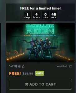 Satellite Reign Game