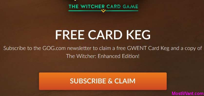 The Witcher Enhanced Edition Free Giveaway