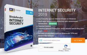 Bitdefender Internet Security 2019 Free Giveaway