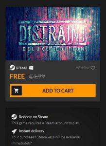 DISTRAINT Deluxe Edition Free Download
