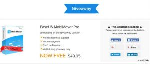 EaseUS MobiMover Pro Giveaway