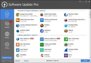 Glarysoft Software Update Pro