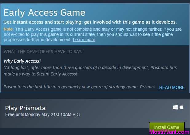 Prismata Steam Game For Free