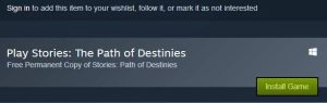 Stories The Path of Destinies Free Giveaway