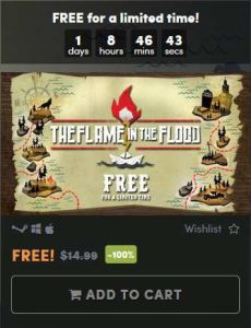 The Flame in the Flood FREE STEAM Giveaway