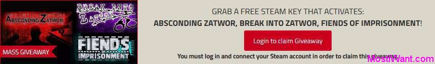 Zatwor trilogy Game Free Steam Key