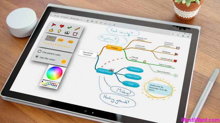 Mind Maps Pro Windows 10 App