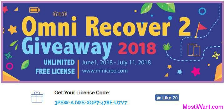 Omni Recover 2 iPhone Data Recovery App Free