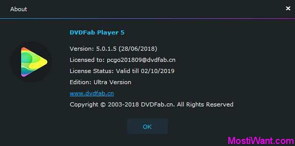 DVDFab Player 5 Ultra Full Version