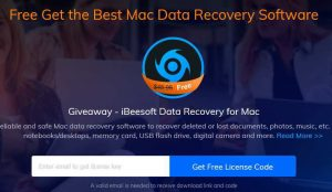 iBeesoft Data Recovery for Mac Free Giveaway