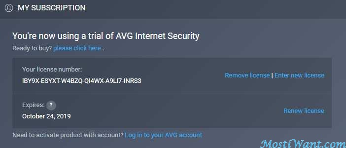AVG Internet Security 2019 Free One Year