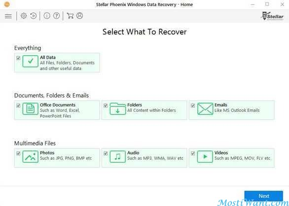 stellar phoenix data recovery activation key free download